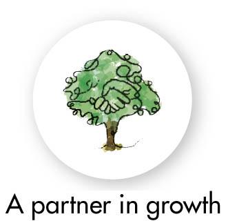 Kumppani kasvussa